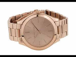 Rose Gold Sprühlack : mk3197 michael kors rose gold slim runway ladies watch youtube ~ Avissmed.com Haus und Dekorationen