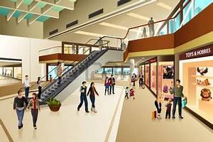Mall hallway clipart - Clipground
