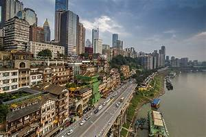 Chongqing: neighbourhood in central Chongqing - Students ...