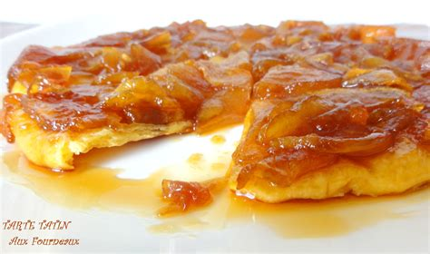 petit plat facile à cuisiner tarte tatin aux fourneaux