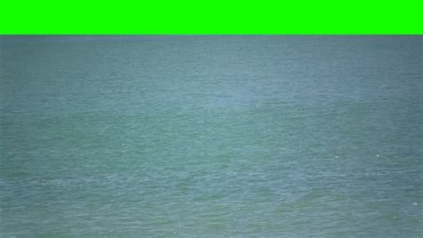 Boat Green Screen by Small Boat In The Sea On A Green Screen Background Stock