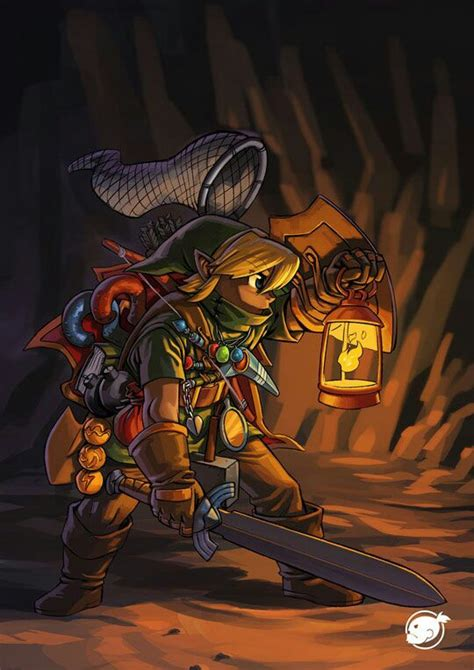 Its Dangerous To Go Alone Artwork From Legend Of Zelda A