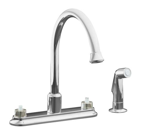 home depot kitchen sink faucets kohler coralais decorator kitchen sink faucet in polished
