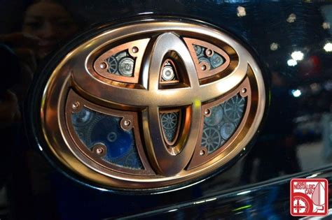 cool toyota logos a very interesting and unique toyota logo with clockwork