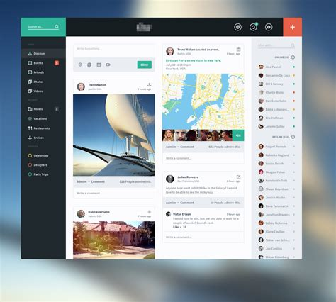 beautiful user interface designs you and saturation