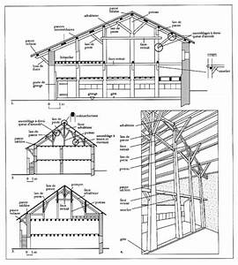 l39etude des charpentes comme element de datation du With plan maison en pente 16 construction hangar bois de france