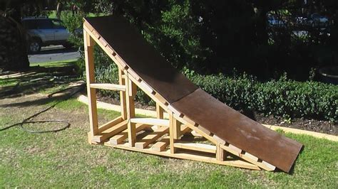 wood ramp plans easy diy woodworking projects step  step   build wood work