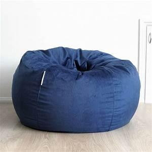 Fur, Beanbag, Cover, Soft, Ocean, Blue, Velvet, Cloud, Chair, Bean, Bag, Reading, Relaxing