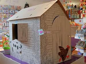 Cabane En Carton À Colorier : cabane en carton colorier au coeur du jeu ~ Melissatoandfro.com Idées de Décoration