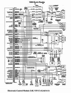 Electronic Wiring Diagram Of 1990 Buick Reatta  60725