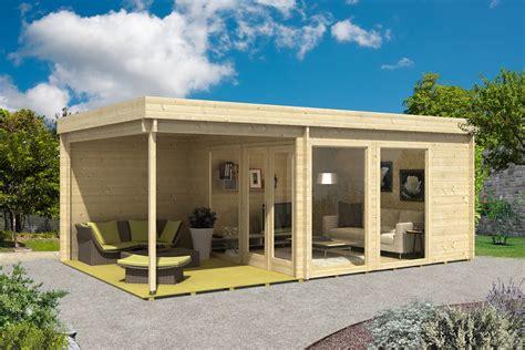 Modernes Gartenhaus Flachdach by Design Gartenhaus Avantgarde 44 Iso A Z Gartenhaus Gmbh