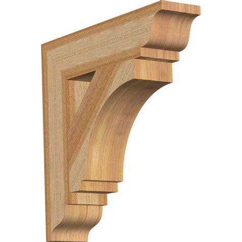 Wooden Corbels And Brackets by Ekena Millwork 4 In X 18 In X 18 In Western Cedar