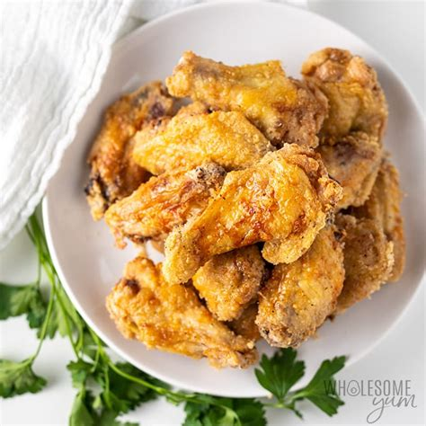 fryer wings chicken crispy air recipe recipes keto carb low wholesomeyum instant frozen vortex cook oven yum pot extra cooking