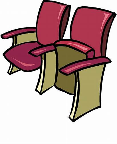 Seats Clip Clipart Theater Row Seat Cliparts
