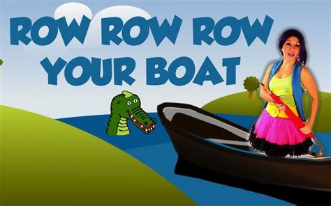Row Row Your Boat Mp4 Download by 37 Best Nursery Rhymes Images On Pinterest Children
