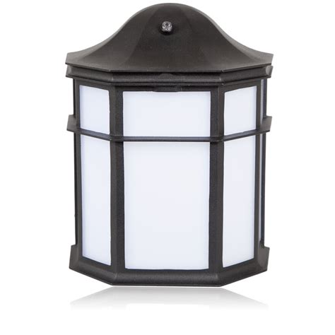 maxxima decorative outdoor led wall pack light with dusk