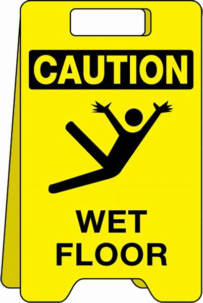 Wet Caution Floor Sign Clipart Warning Signs