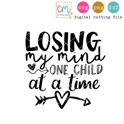 Soft bella canvas tee for moms premium shirt great gift for mothers. Losing My Mind One Child At A Time - SoFontsy
