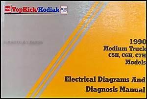 1990 Chevy Kodiak  U0026 Gmc Topkick Wiring Diagram Manual Original