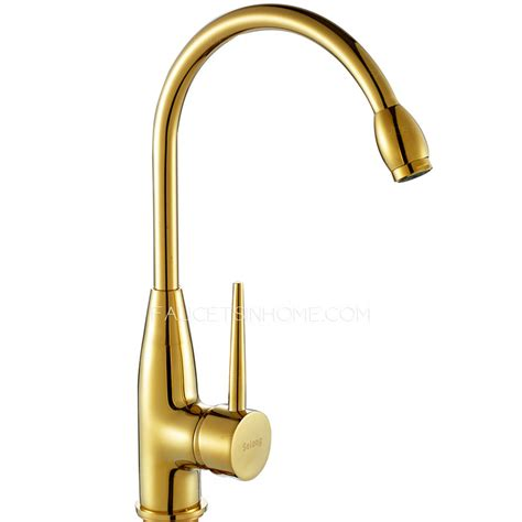 the best kitchen faucets discount polished brass gold vintage rotatable kitchen