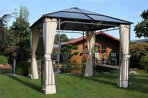 Pavillon Mit Festem Dach : leco pavillon m nsterland 300 x 300 cm kaufen otto ~ Michelbontemps.com Haus und Dekorationen