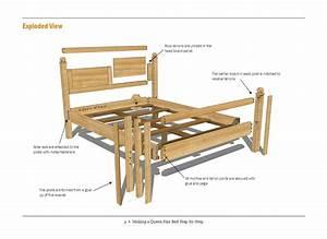 Woodwork Free Bed Plans PDF Plans