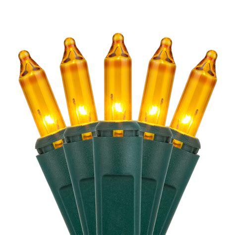 christmas lights  yellow christmas tree mini lights