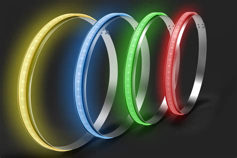 color wheel light profile pixel wheel rings led wheel lights and rings