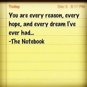 1000+ images about The Notebook Quotes on Pinterest | Its ...