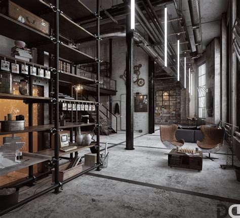 Industrial Loft 40 lofts that push boundaries