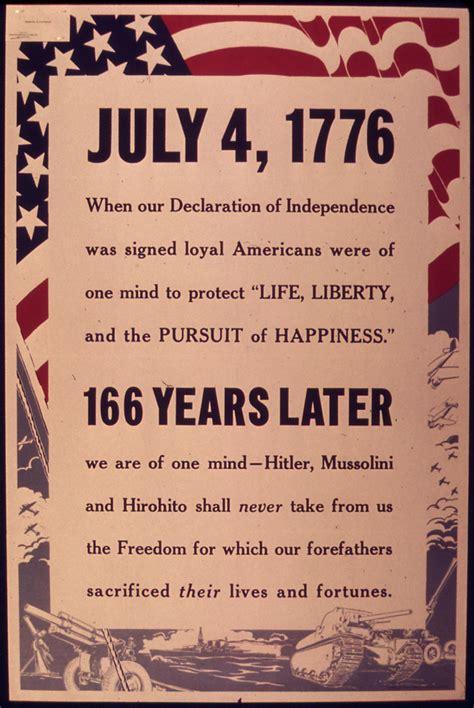 july     declaration  indepedence