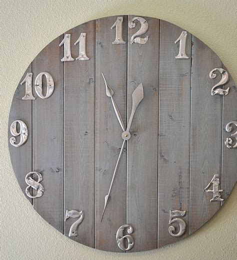simple wooden clock plans  woodworking projects plans