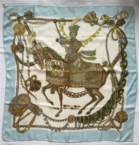 hermes scarf le timbalier scarf catawiki