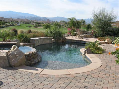 photos of pools palm desert pools stonecreek pools and spas pool photos