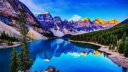 Moraine Lake Canada Backiee Landscape