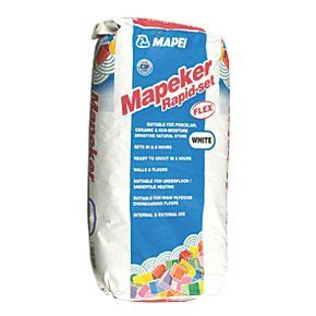 Tile Adhesive Remover Screwfix by Mapei Rapid Set Adhesive White 20kg Floor Tile Adhesive