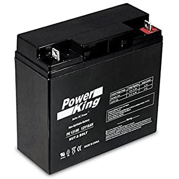 Amazon.com: BATTERY REPLACEMENT FM12180 EACH 12V 18AH