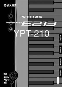 Yamaha Electronic Keyboard Ypt