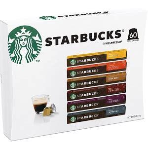 Starbucks colombia brewed coffee verismo pods. Starbucks Nespresso Coffee Pods Variety Pack 60 Capsules ...