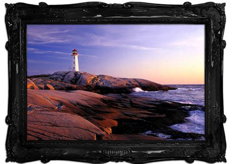 peggys point lighthouse peggys cove scotia seascape mural printed wall mural