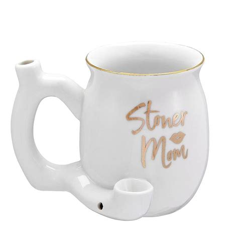 Cool coffee mugs with exclusive artwork we decided there were not enough wake and bake coffee mugs out there. Stoner Mom Ceramic Mug Pipe - Pulsar Vaporizers