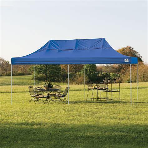 shelterlogic pop     truss pro canopy tent  blue cover
