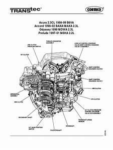 Accord 1998 Auto Tranny Diagram