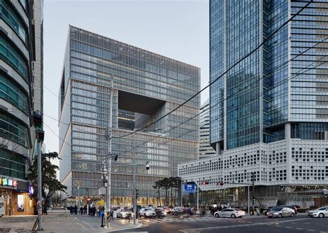 Firmenzentrale Amorepacific In Seoul by David Chipperfield Architects Amorepacific Headquarters In