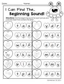 Kindergarten Ela Worksheets February Printables Kindergarten Literacy And Math For Pictures And Literacy