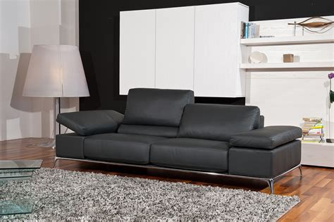 Contemporary Leather Sofa Sets by Manhattan Contemporary Black Leather Sofa Set Fresno