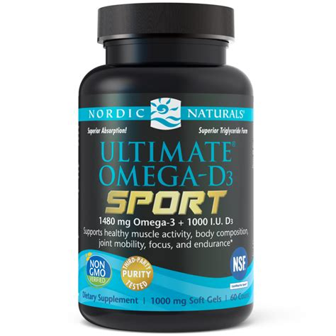 ultimate omega  sport omega  fish oils nordic naturals
