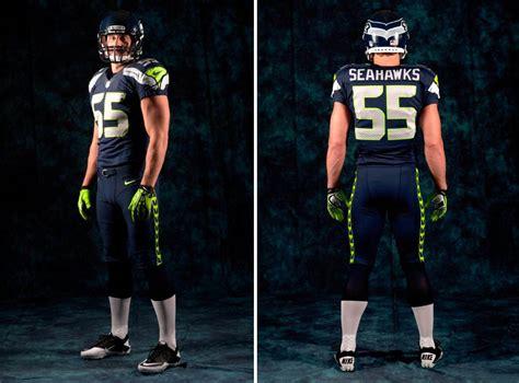 seahawks unveil action green color rush uniforms nbc