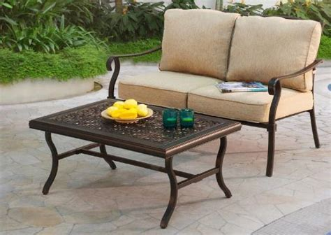 lowe s patio furniture clearance patio conversation set