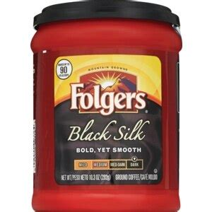 Why shop with my coffee supply? Folgers Black Silk Ground Coffee - CVS.com